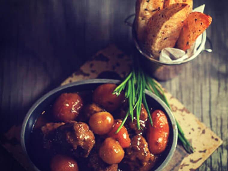 Juicy Baked Meatballs with Peri-Peri Wedges