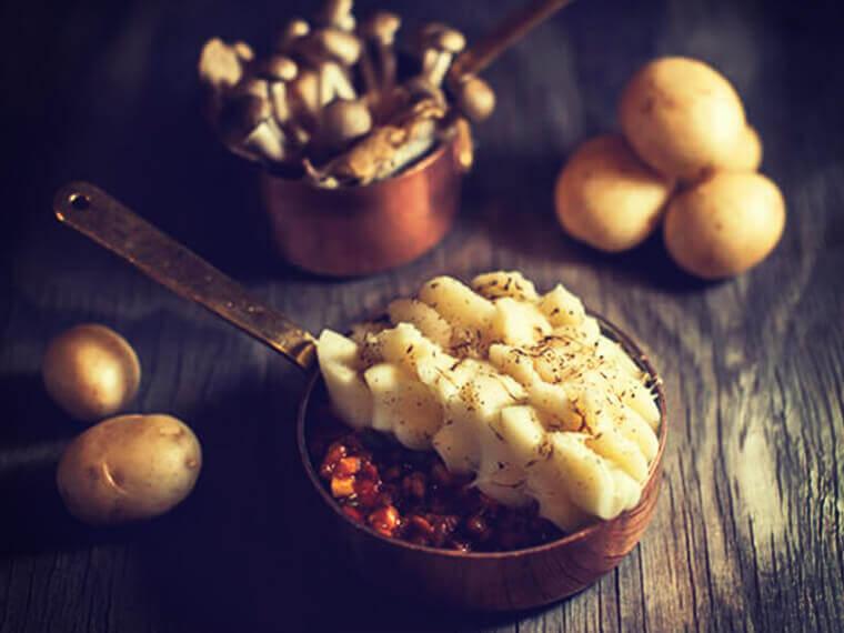 Vegetable & Lentil Cottage Pie