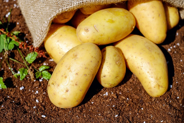 POTATOES CARRY THE POTENTIAL TO MAKE A DIFFERENCE…