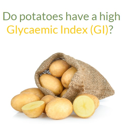 Do potatoes have a high glycaemic index (GI)