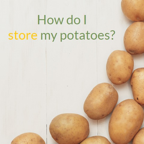 How should I store my potatoes image