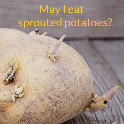 Can I still eat potatoes that have developed sprouts image