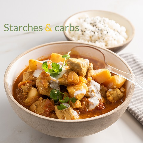Starches and carbohydrates explained What fits in where image